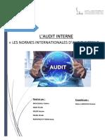 Les Normes D'audit interne RFN