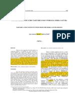 RIZZON 2001. concentracipon acido tartarico en vinos en brasil