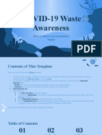 COVID-19 Waste Awareness by Slidesgo