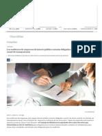 Las auditoras de empresas de interés público estarán obligadas a emitir un informe anual de transparencia _ Compañías _ Cinco Días