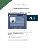 Manual de Instalação do Leitor Biométrico (1)