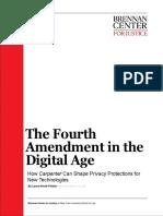 The Fourth Amendment in the Digital Age
