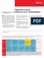 Applying the Supreme Court's Carpenter Decision to New Technologies