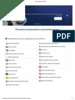 ONPE - Elecciones Internas 2020