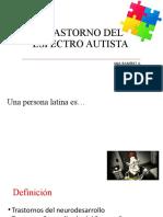 TRASTORNO DEL ESPECTRO AUTISTA[23527]