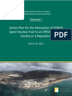 Action Plan_Early Release Draft of SONGS report, Volume I, 3-15-21
