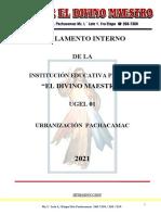 Reglamento Interno 2021-1