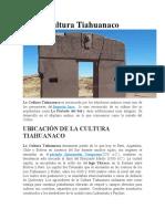 Cultura Tiahuanaco-PUNO