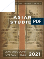 Asian Studies Catalog 2021