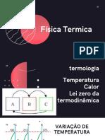 2°ANO - Física Térmica