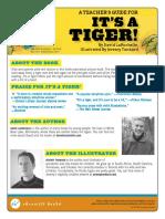 It's a Tiger! Teacher Guide