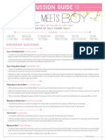 Girl Meets Boy Discussion Guide