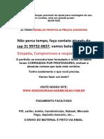 (31)997320837 - 6° e 7° - Economia e meio ambiente