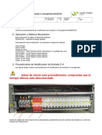 IE063_B Instrucción para modificar la entrada C.A do gabinete E63452190