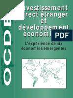 Investissement Direct Etranger et développement économique