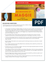 The Meaning of Maggie Discussion Guide
