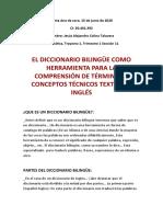 Dicionario bilingue
