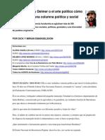 110226-27; Gloria y Delmer; El Arte Politico de Fundir Una Columna Politica y Social