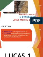 Aula 15.2020 Os Evangelhos Lc 1.9-10