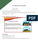 actividades de diagnostico de CIENCIAS SOCIALES para cuarto grado