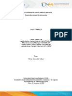 Paso 2. Sistema de información para la gestión de proyectos (1)