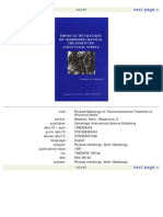 Physical Metallurgy of Thermomechanical Treatment of Structural Steels