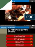 Prinsip-prinsip Anti Korupsi (1)