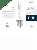 Curricula El ABC de La Tarea Docente Curriculum y Enseñanza - Silvina Gvirtz & Mariano Palamidessi
