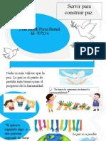 diapositivas afiches publicitarios paz