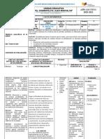 P.U.D.-Plan de Unidad EDUCACION FISICA 10ºEGB (1)