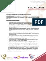 Materiales Semana UNO Reto Wellness