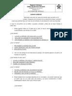 ACTIVIDAD MODULO 3 PRIMEROS AUXILIOS