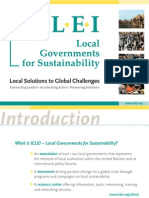 ICLEI brochure english