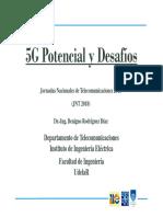 5G Potencial y Desafíos. Prof. Ag. Dr. Benigno Rodríguez. (Fac. Ingeniería – UDELAR)