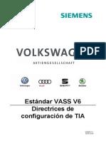 VASS V6 Standard Projektierungsrichtlinie TIA_V_1_1_ES