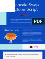 Launch An Efficient DeFi Based PancakeSwap Clone Script On Binance Smart Chain (BSC)