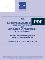 FR CSR 20080630 CSR and the Role of the Legal Profession a Guide for European Lawyers Update n 2
