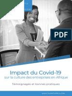 Livre blanc Talent2Africa - Covid-19 et culture d'entreprise