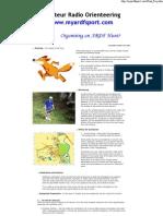 Organising an ARDF Event