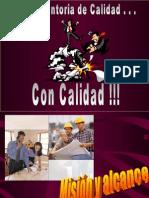 Interventoria de calidad con calidad (Construction Job Supervision