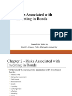 Risks Associated with Investing in Bonds(1)