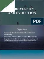 LESSON 7 - Biodiversity and Evolution
