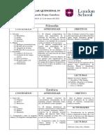 PLANEACIÓN ESCOLAR QUINCENAL IV 2020-2021
