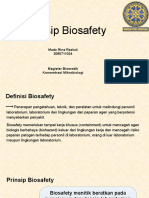 Prinsip Biosafety