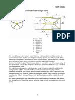Hydrodynamic Calculation Howell-Bunger Valve [en]