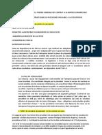 Adaptation de La Theorie Generale Des Contrat a La Matiere Commerciale