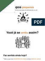1-PEQUENOS GRUPOS