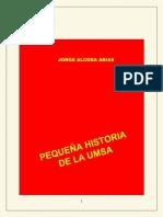 PEQUEÑA HISTORIA DE LA UMSA