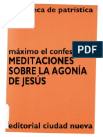 7. MÁXIMO EL CONFESOR - Meditaciones Sobre La Agonía de Jesús