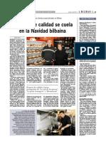 Gazta Denda Santutxu en el Periódico Bilbao